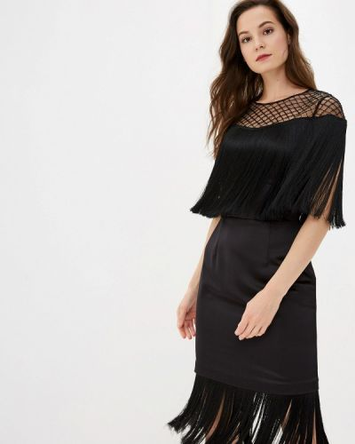 Платье футляр черное Ksenia Knyazeva