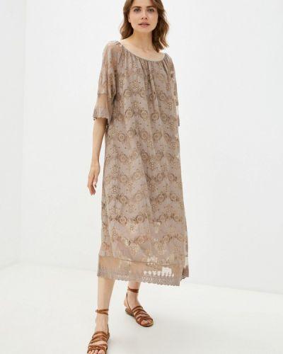 Бежевое платье Grafinia