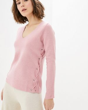 Пуловер - розовый Manode