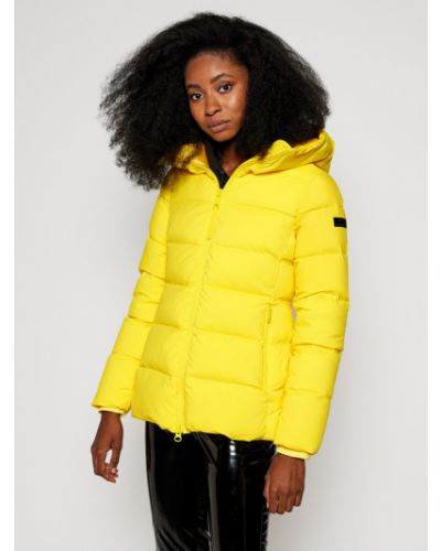 Żółta kurtka puchowa Hetregò