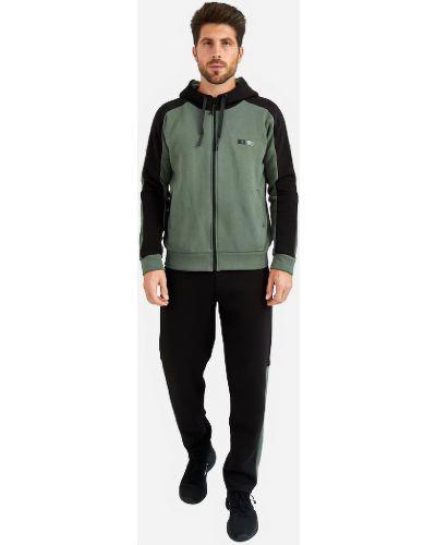 Теплый спортивный костюм - черный Demma