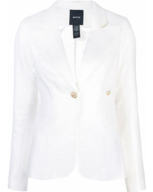 Пиджак длинный - белый Smythe
