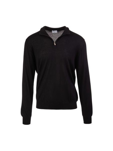 Czarny sweter Fedeli