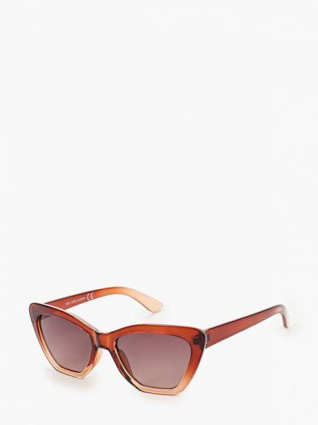 Муслиновые коричневые солнцезащитные очки Marks & Spencer