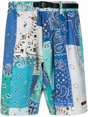 Niebieskie szorty bawełniane Readymade