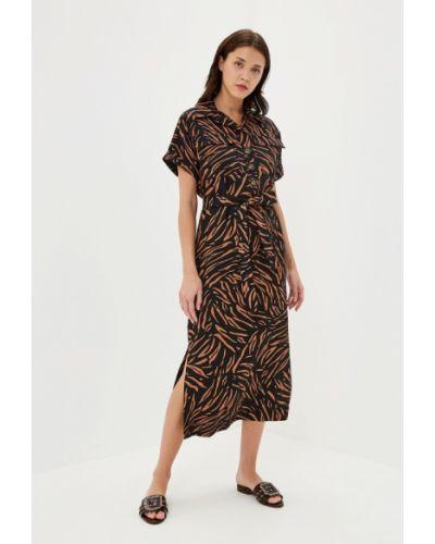 Повседневное платье черное Marks & Spencer