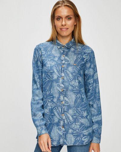 Блузка с длинным рукавом на пуговицах с манжетами U.s. Polo