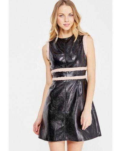 Платье осеннее шерстяное Lost Ink.