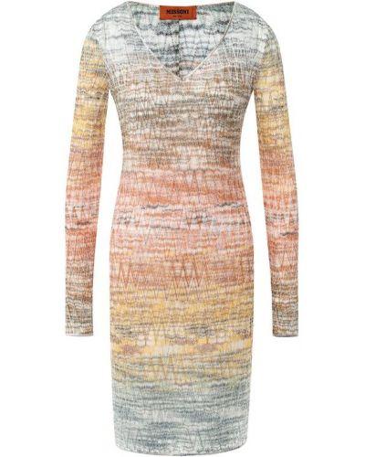 Платье футляр из вискозы Missoni