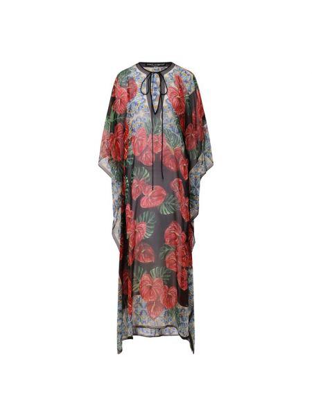 Туника шелковая Dolce & Gabbana