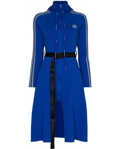 Синее платье Adidas