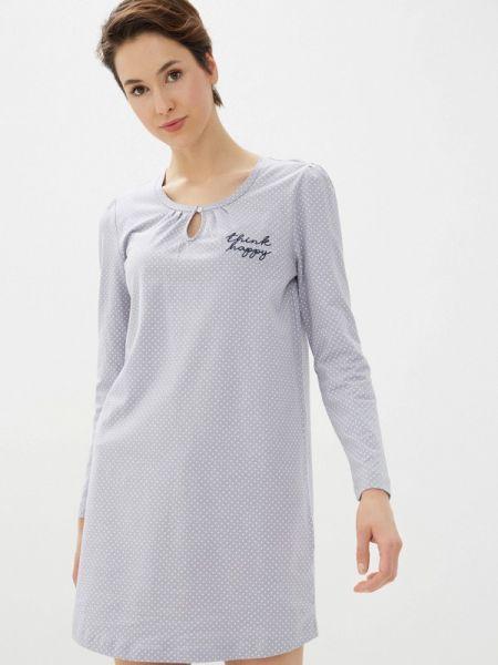 Платье - серое Nymos