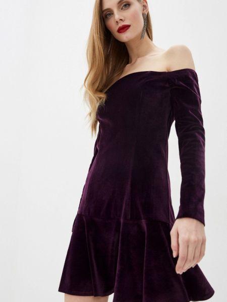 Вечернее платье осеннее фиолетовый M,a,k You Are Beautiful