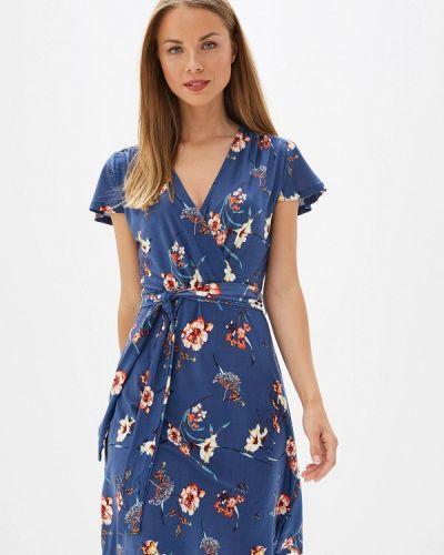 Платье с запахом весеннее Iwie