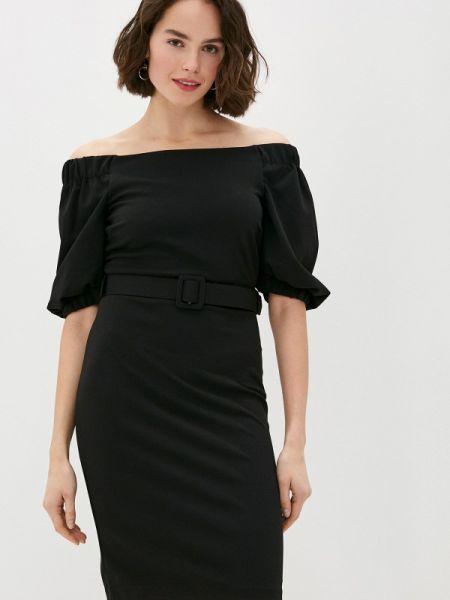 Черное вечернее платье Rinascimento