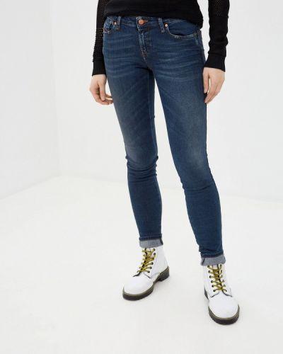 Зауженные джинсы - синие Diesel