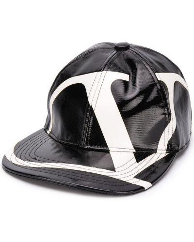 Хлопковая белая кепка Valentino Garavani