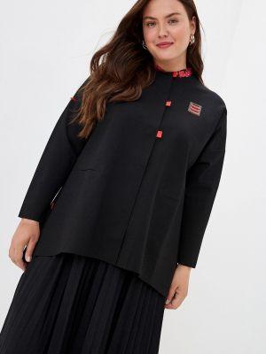 Черный пиджак Gamelia