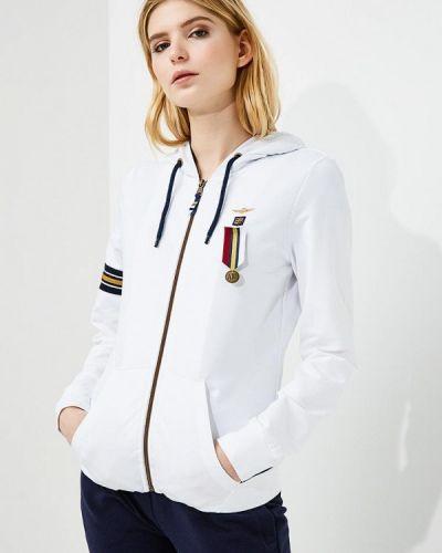 Белая толстовка Aeronautica Militare