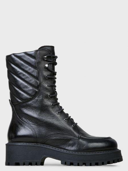 Кожаные ботинки - черные Bruno Premi