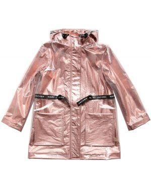 Płaszcz z kapturem z kieszeniami Little Marc Jacobs