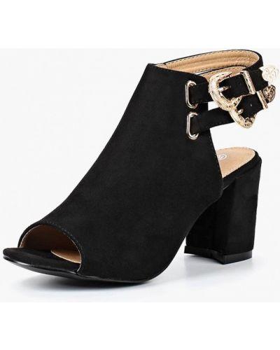 Босоножки на каблуке замшевые Ws Shoes