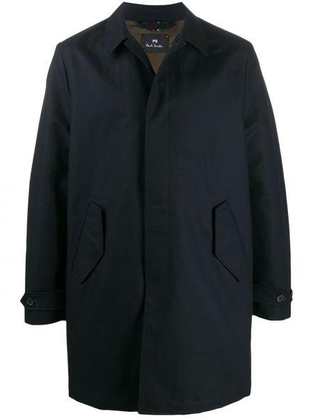Płaszcz przeciwdeszczowy z kieszeniami długo Ps Paul Smith