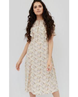 Платье шифоновое приталенное Cardo