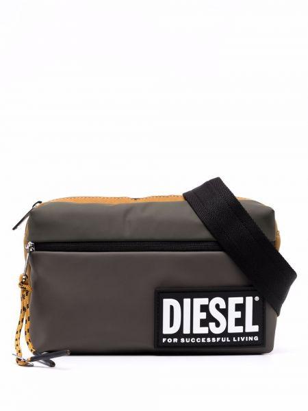 Желтый ремень Diesel