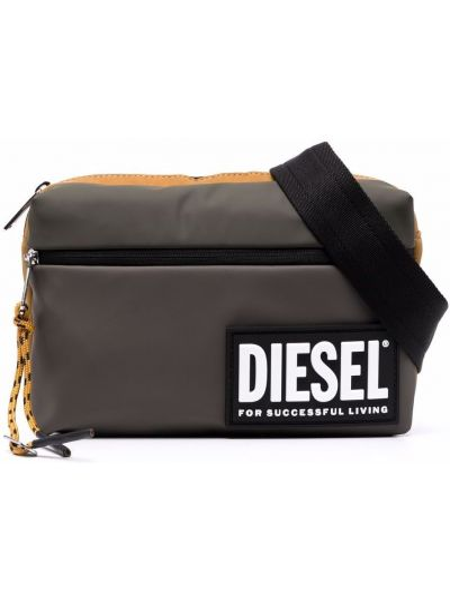 Żółty pasek z paskiem Diesel