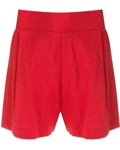 Красные шорты свободного кроя Osklen