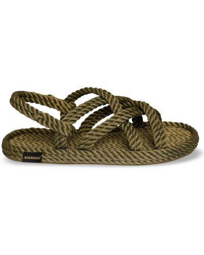 Zielone sandały Bohonomad