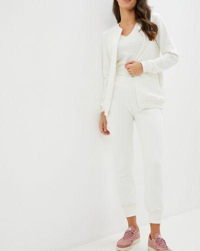 Костюмный белый спортивный костюм Pink Frost