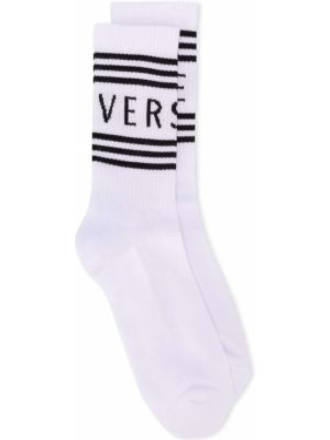Вязаные носки Versace