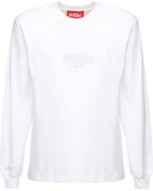 Koszula z długim rękawem długa z kołnierzem 032c