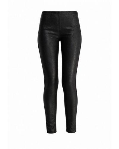 Черные зауженные брюки Gas