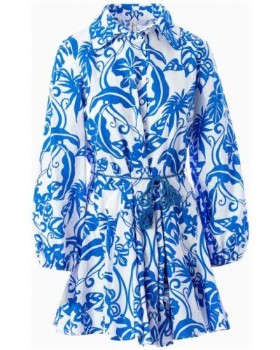 Niebieska sukienka Souvenir