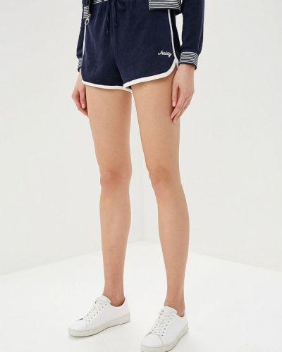 Спортивные шорты - синие Juicy By Juicy Couture