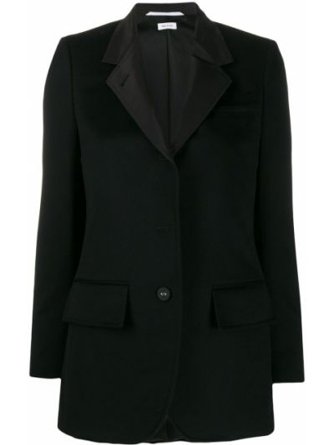 Пиджак длинный - черный Thom Browne