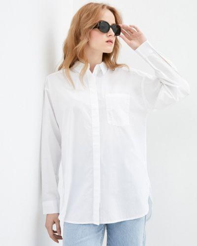 Белая рубашка с длинными рукавами Q/s Designed By