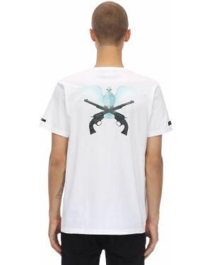 Biały t-shirt bawełniany 3.paradis