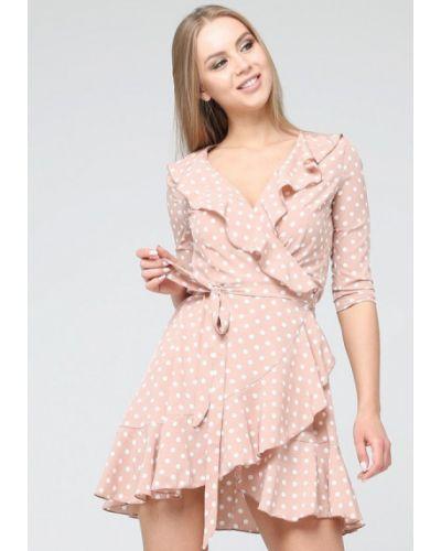 Платье с запахом весеннее Brunello De Neri