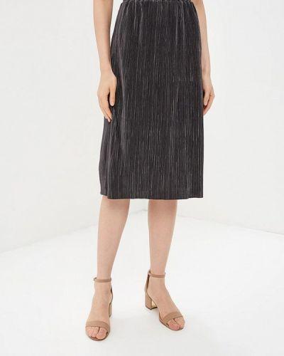 Плиссированная юбка серая Sela