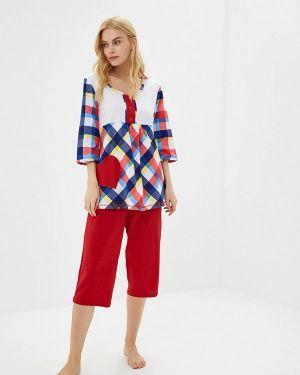 Пижама красная пижамный Артесса