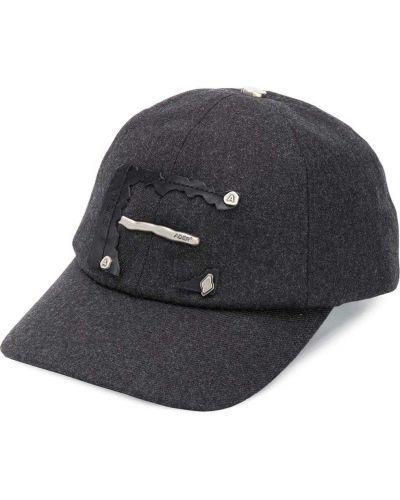 Srebro wełniany czapka z klamrą Ader Error
