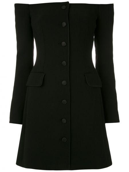 Прямое приталенное платье мини на пуговицах с воротником Dolce & Gabbana