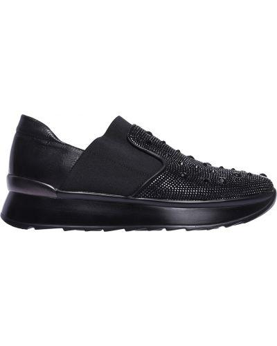Кроссовки на платформе черный Fru.it