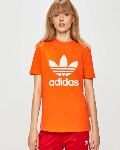 Футболка тонкая эластичный Adidas Originals