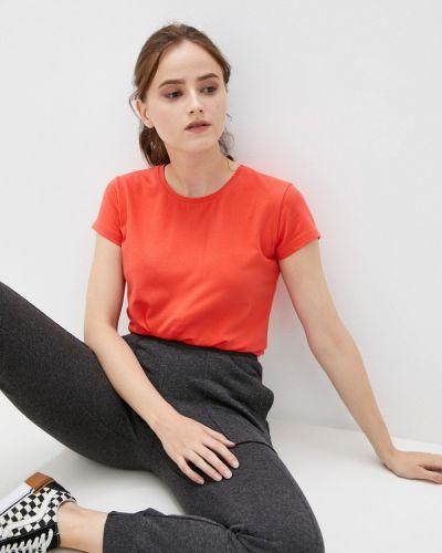 Оранжевая футболка с короткими рукавами D.s