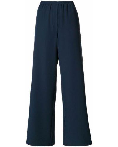 Брюки с завышенной талией брюки-хулиганы дудочки Emporio Armani